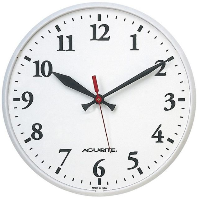 "12.5"" Outdoor Wall Clock"