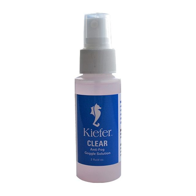 Kiefer Swim Goggle Anti Fog Spray Solution - 2 Oz