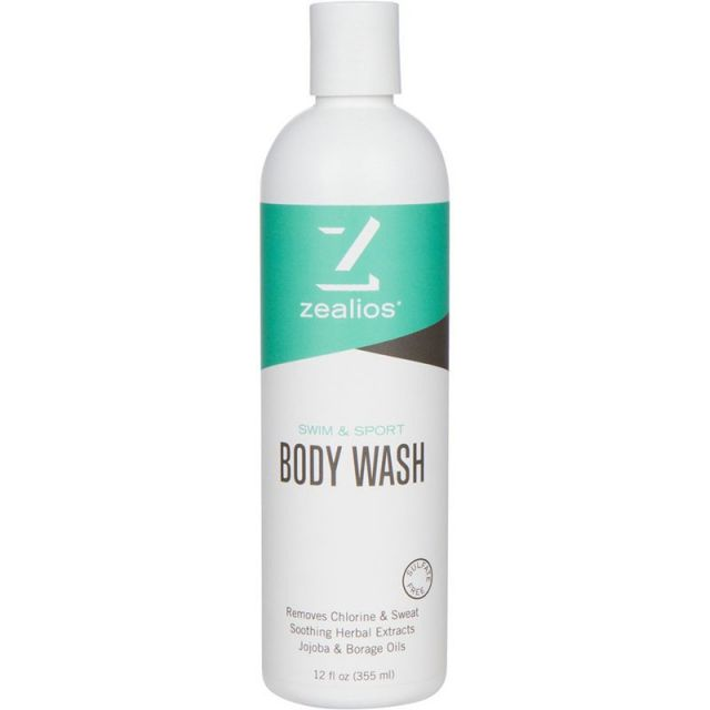 Zealios Swim & Sport Body Wash 12oz
