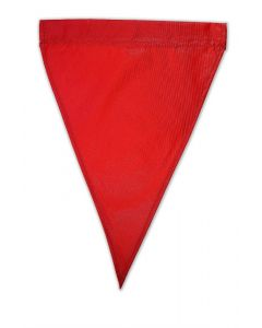 Solid Nylon Flags - 11 x 14.5""