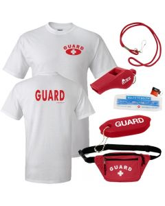 Guard Tee with Lifeguard Basics Kit