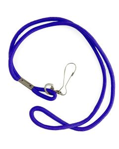 Nylon Neck Lanyard - Color - Blue