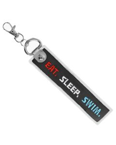 Eat. Sleep. Swim. Bag Tag