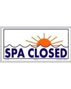 Spa Closed Sign