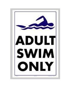 Adult Swim Only Sign