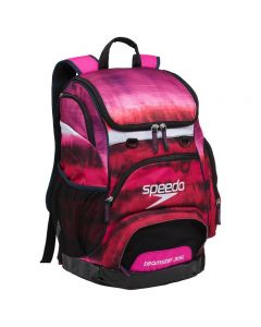 Speedo Large 35L Teamster Backpack-Tie Dye Pink-Yes