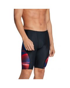 Speedo Lane Game Jammer-Red/White/Blue-22