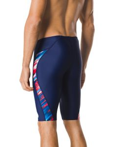 Speedo Reigning Light Jammer -Navy/Red/White-22