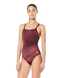 Speedo Warped Weave Flyback-Speedo Maroon-20