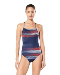 Speedo The Fast Way Crossback-Red/White/Blue-20