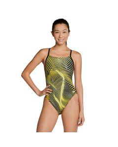 Speedo Coded Riff Flyback-Speedo Yellow-20