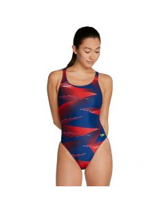 Speedo Lane Game Super Pro-Red/White/Blue-20