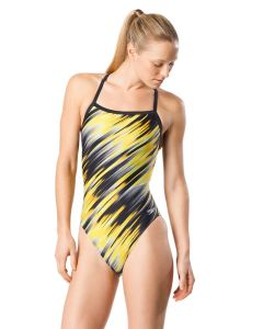 Reigning Light Flyback Swimsuit-Speedo Yellow-20