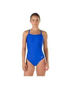 Speedo Solid Flyback Swimsuit