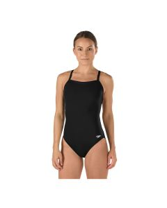 Speedo Solid Endurance Flyback-Black/Black-6/22
