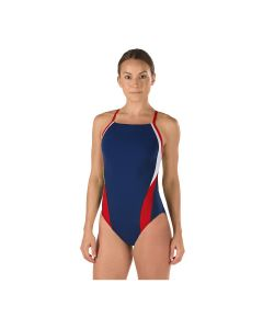 Speedo Launch Splice Endurance Cross Back