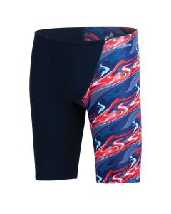 Dolfin Reliance Inferno Spliced Jammer-Red/White/Blue-22