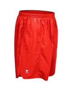 TYR Classic Deck Short - Color - Red,Size - Small
