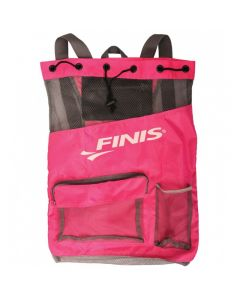 FINIS Ultra Mesh Backpack-Hot Pink/Grey