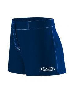 RISE Manager Female Flex Short-Navy-XSmall