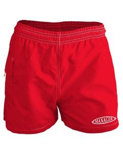RISE Manager Female Flex Board Short-Red-XSmall