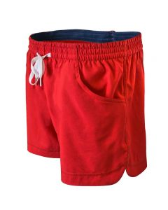 RISE Female Comfy Short-Red/Navy-XSmall