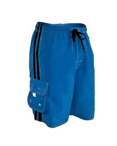 RISE Guard Splice Flex Board Short - Color - Royal/Black,Size - Small