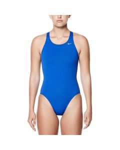 Nike Poly Core Solid Fast Back Tank-Game Royal-20