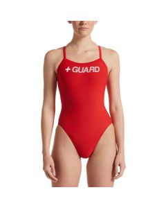 Women's Nike Swim Guard Racerback One Piece
