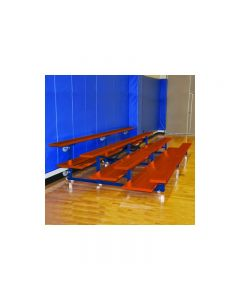 Powder Coated Tip and Roll Bleachers