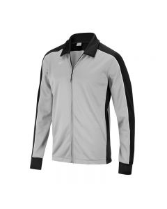 Speedo Youth Streamline Warm Up Jacket-Grey/Black-Youth Small