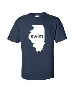 Swim Illinois Short Sleeve Tee