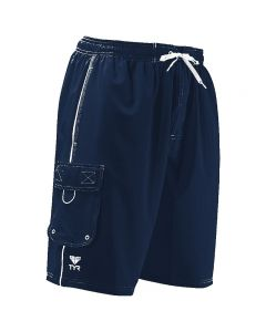 TYR Challenger Trunk - Color - Navy,Size - Small