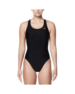 NIKE Nylon Solid Fastback One Piece