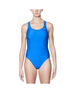 NIKE Nylon Solid Fastback One Piece-Game Royal-20