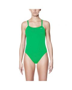 Nike Poly Core Solid Lingerie Tank - Color - Court Green,Size - 20
