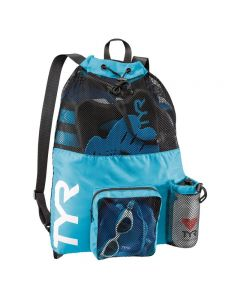 TYR Big Mesh Mummy Backpack - Color - Blue