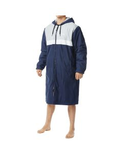 TYR Men's Alliance Podium Parka -Navy-XSmall-No