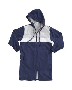TYR Youth Alliance Podium Parka -Navy-Youth Small-No