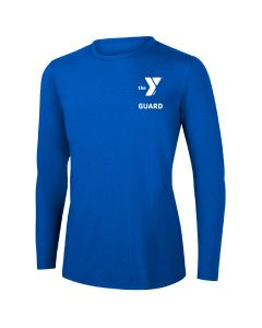 YMCA Guard Long Sleeve Rashguard 2604-Royal-XSmall