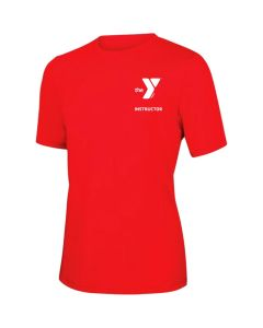 YMCA Instructor Short Sleeve Rashguard