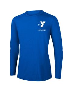YMCA Instructor Long Sleeve Rashguard 2604-Royal-XSmall