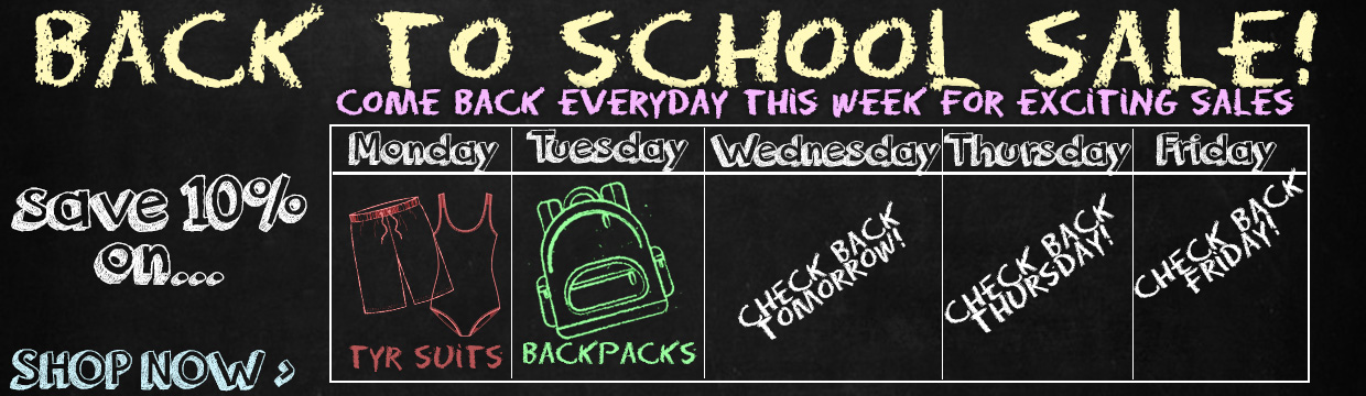 Save 10% with our Back to School Sale