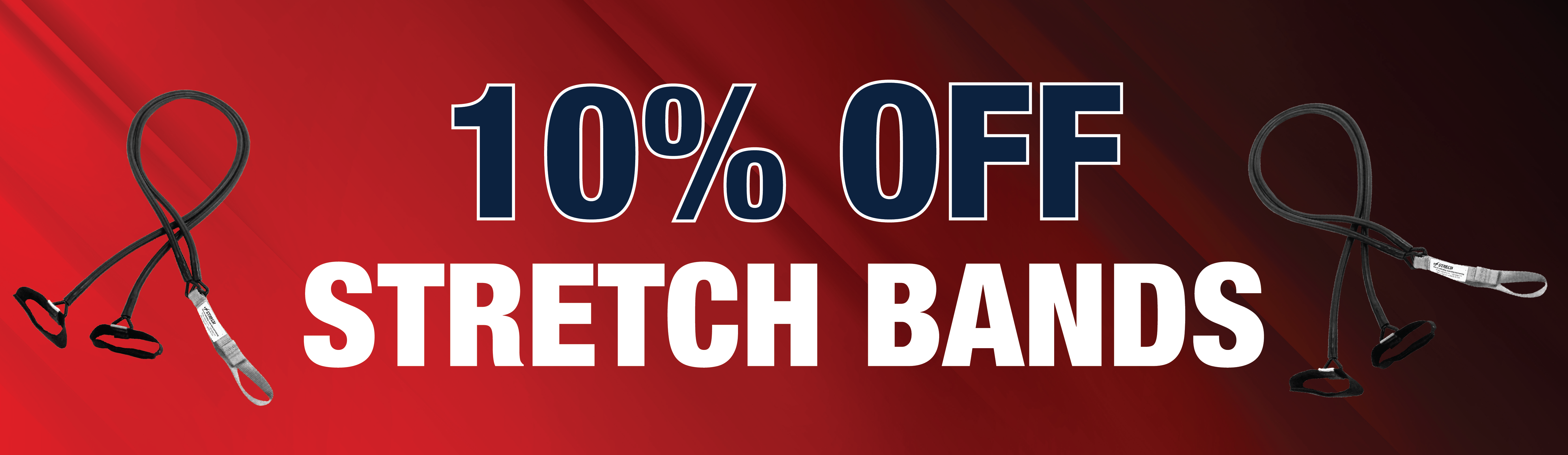 10 % Off Stretch Bands