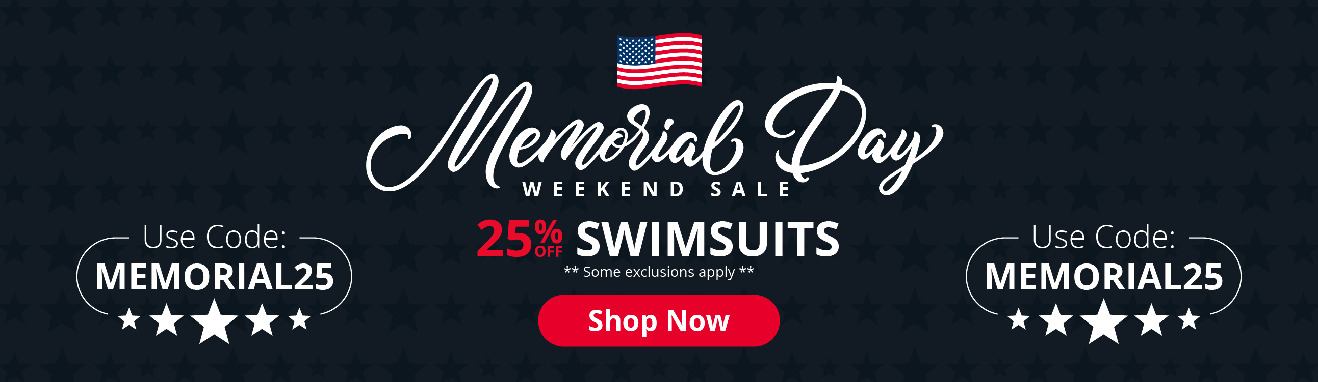 AAS Memorial Day Sale | 25% OFF Swimsuits | Use Code: MEMORIAL25