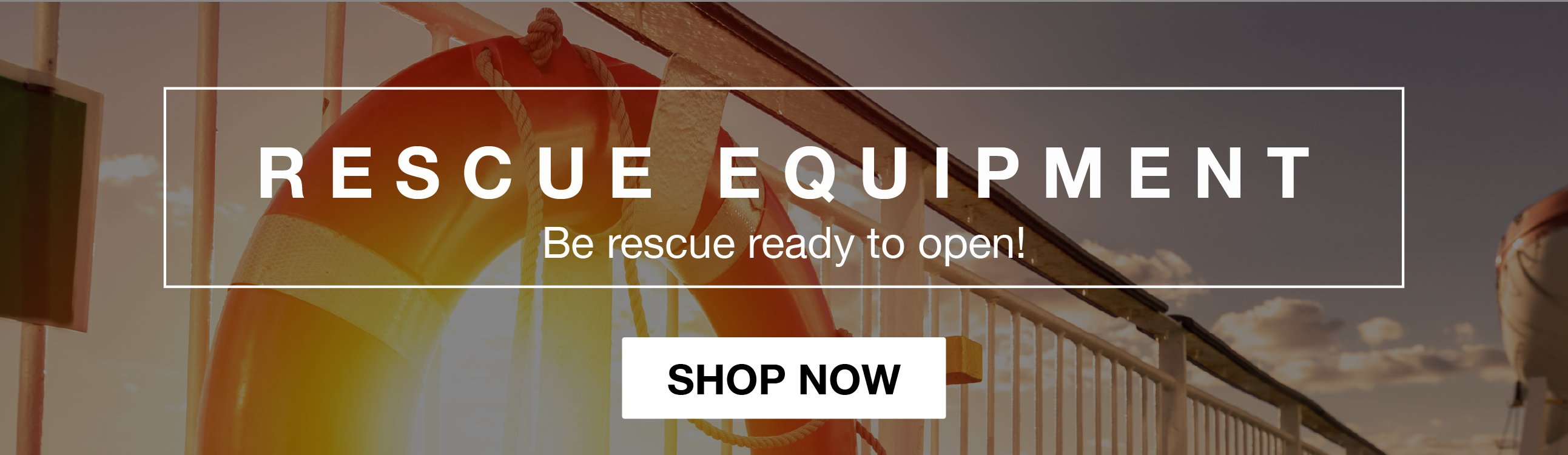 Shop Rescue Equipment!