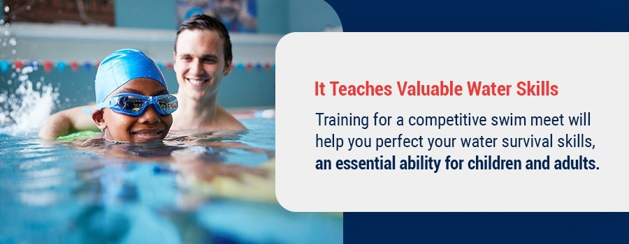 Competitive Swimming Teaches Valuable Water Skills