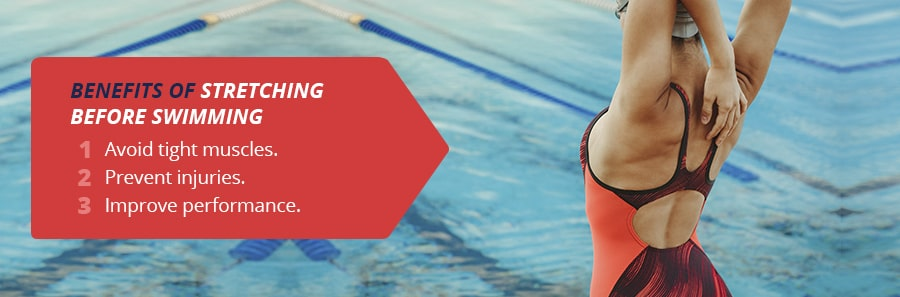 Benefits of Stretching Before Swimming
